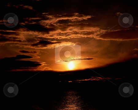 MPIXIS250513 stock photo, Sunset over sea by Mpixis World