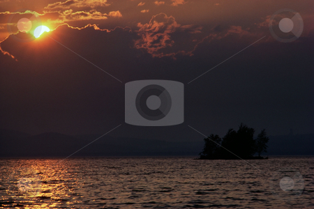 MPIXIS250533 stock photo, Sunset over sea by Mpixis World