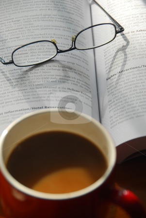 Coffee and study stock photo,  by Timothy OLeary