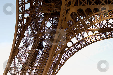 MPIXIS250935 stock photo, Detail of base of eiffel tower by Mpixis World