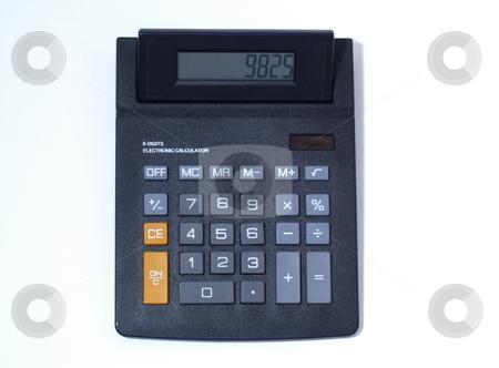 Large Calculator stock photo, OLYMPUS DIGITAL CAMERA by Joseph Ligori