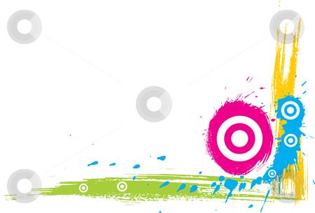 Grunge corner stock vector clipart, Grunge design elements on a white background by Oxygen64