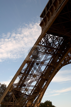 MPIXIS250934 stock photo, Detail of base of eiffel tower by Mpixis World