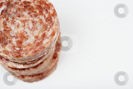 MPIXIS250868 stock photo, Raw sausage meat by Mpixis World