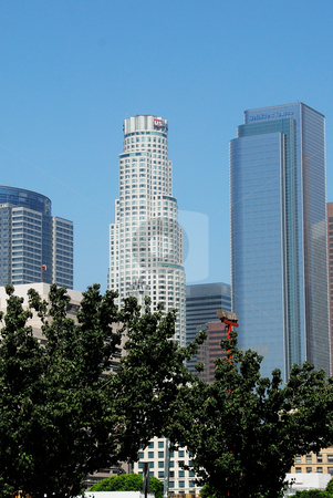 Downtown LA stock photo,  by Timothy OLeary