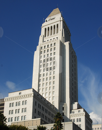 Los Angeles City Hall stock photo,  by Timothy OLeary