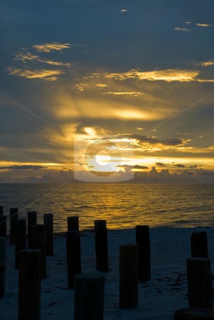 Florida Sunset stock photo, This was taken in Naples, FL by Matthew Schwartz