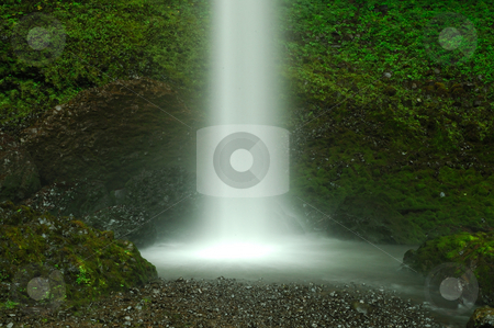 Natural Shower stock photo, Waterfall as a Shower from heaven by Nilanjan Bhattacharya