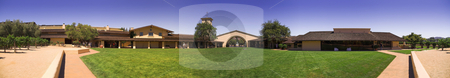 Mondavi Winery, Nappa Valley stock photo, Panoramic view of the Mondavi winery in Nappa Valley by Szilard Kun