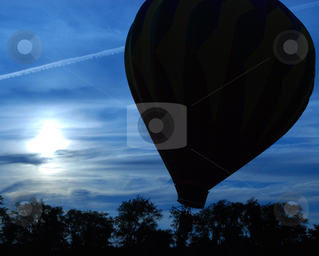 Air Balloons stock photo, RI Hot Air Balloon Festival by Bill Parmentier