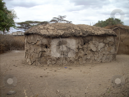 Masai Manyatta stock photo, A Masai Manyatta,  traditional hut made of mud and cowdung. by Rose Nthiwa