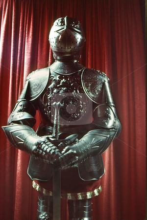 Suit of Armor stock photo, Suit of armor by Joseph Ligori