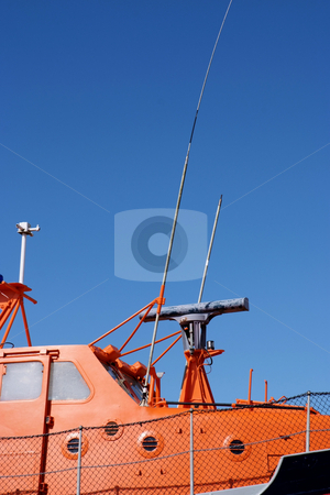 Survival stock photo, Lifeboat or Coast Guard boat used for rescue at sea by Paul Phillips