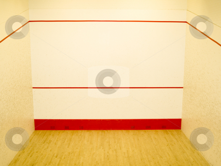 Squash Court stock photo, A photo taken in a squash court.  Taken with my Olympus E-410. by ANDREW NORRIS