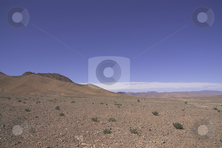 Morocco Desert Scenery 1 stock photo, Desert scenery in southern Morocco by Szilard Kun