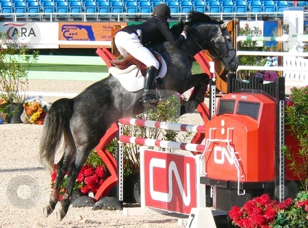 Winter Equestrian Festival '07-'08 stock photo, Wellington Winter Equestrian Festival March 2008 by Perry Correll