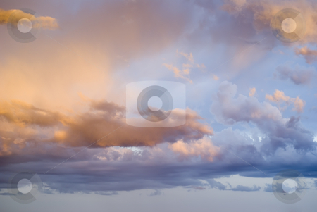 Pastel background stock photo, Pastel clouds Clouds for a beautiful  background. by Serge VILLA