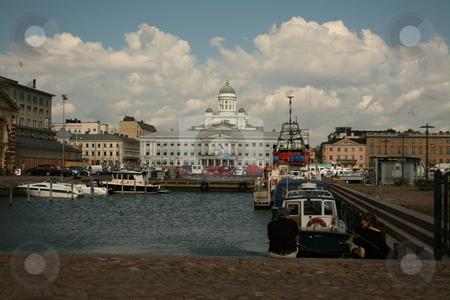 Helsinki port stock photo,  by Luis Agui