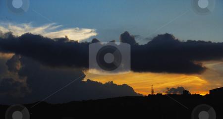 Sunset stock photo, Breathtaking sunset at Caracas, Venezuela by Maria Alessandra Nusiner
