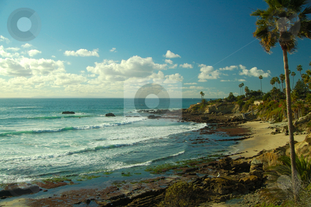 The Coast stock photo, A less known coastal area near laguna beach. by Nilanjan Bhattacharya