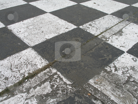 Black and white racing track pattern stock photo,  by Mbudley Mbudley