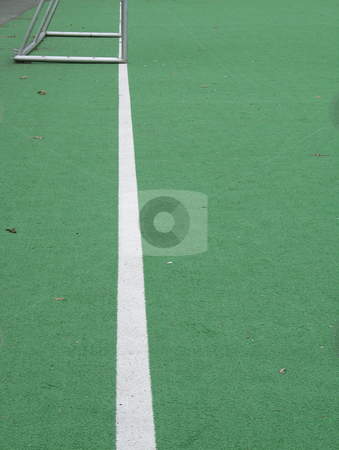 Green soccer field  stock photo,  by Mbudley Mbudley