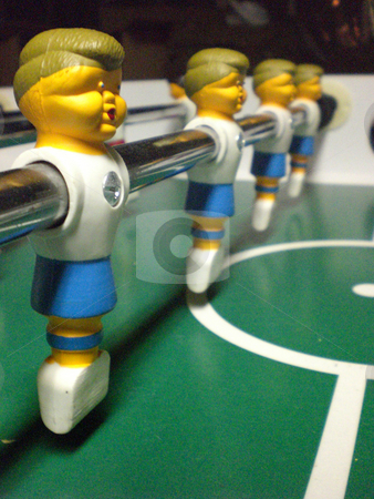 Fooseball men stock photo,  by J.G. Byers