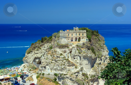 Tropea palace stock photo, Beautiful palace in Tropea, Calabria, Southern Italy by Natalia Macheda