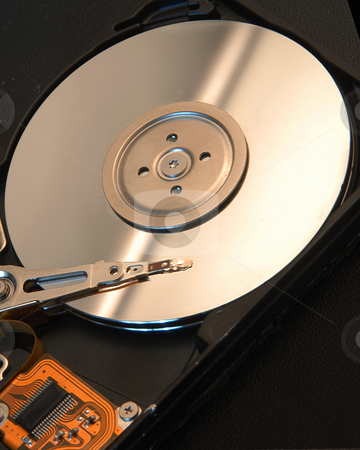 Computer Hard Drive stock photo,  by Timothy OLeary