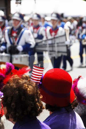 Parade on the 4th stock photo,  by Timothy OLeary
