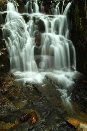 Sunbeam creek stock photo, A waterfall at Sunbeam creek by Nilanjan Bhattacharya