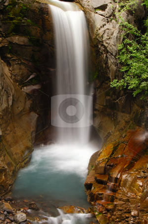 Fall of Christ stock photo, Chirstine falls at rainier national park by Nilanjan Bhattacharya