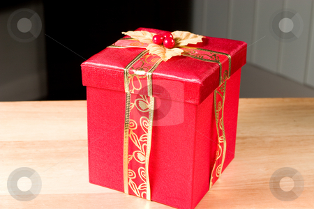 Little Red Gift Box stock photo, Little Red Gift box perfect for any Occasion by Johan Knelsen
