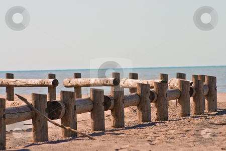 Summer sand at beach stock photo, Summer sun in the sand at the beach by Johan Knelsen