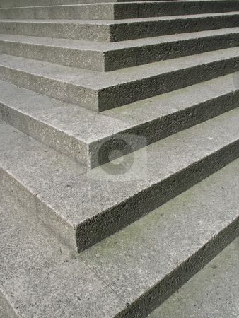Concrete steps stock photo,  by Mbudley Mbudley