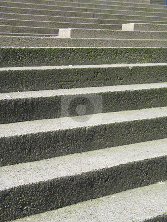 Concrete stairs stock photo,  by Mbudley Mbudley