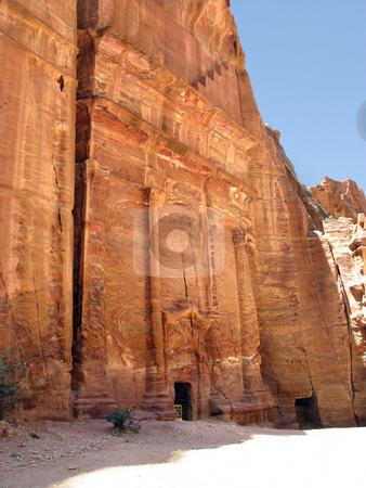 Petra Jordan stock photo, Ruins of Petra, Jordan, Middle east, Asia by Roman Vintonyak