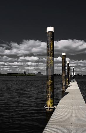 Empty marina stock photo,  by Vivek Chandrashekaran