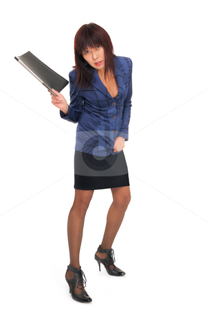 Asian Office Woman stock photo, Asian Office Woman by Vadim Maier