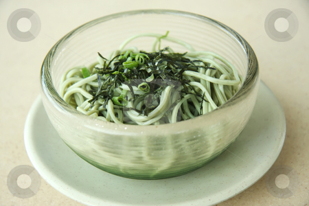 Soba noodles stock photo, Bowl of soba noodles traditional japanese cuisine by Kheng Guan Toh