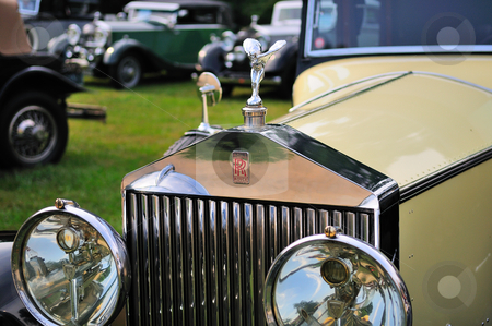 Rolls Royce Springfield phantom stock photo, 1930 Rolls Royce Springfield Phantom I by Tim Doubrava