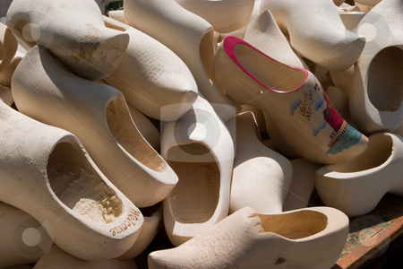 Wooden Shoes stock photo,  by Ramses Racelis