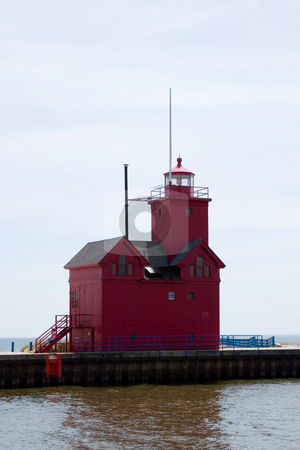Holland Michigan Lighthouse stock photo,  by Ramses Racelis