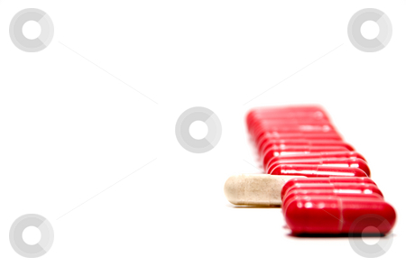 Prescription Medication stock photo, A collection of doctor prescribed medical pills. by Robert Byron