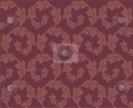Antique pattern stock vector clipart,  by R. B.
