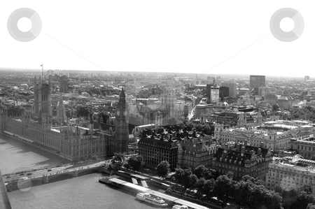 City View (London) stock photo, Houses of Parliament and the river Thames by Lee Torrens