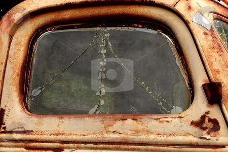 Rusty Door stock photo, Aged truck door by Jack Schiffer