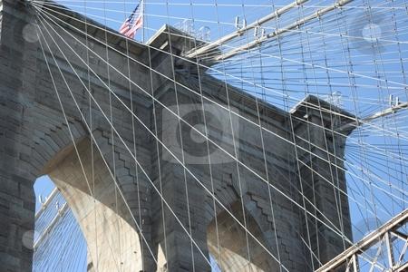 Brooklyn bridge stock photo,  by Ryan Bouie