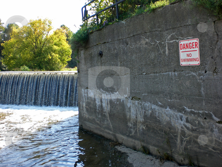 No swimming stock photo,  by J.G. Byers