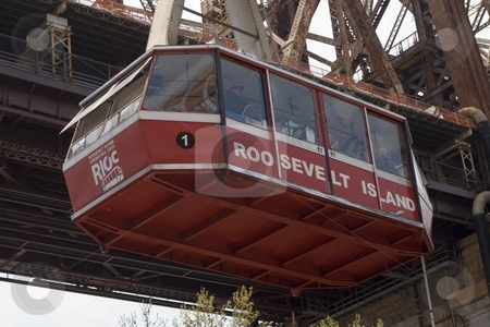 Roosevelt Island Tram stock photo, This is the one and only Tram in NYC that takes you from Manhattan to Roosevelt Island in NYC by Ryan Bouie
